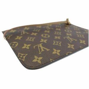 Louis Vuitton Bags - LOUIS VUITTON Pochette Wristlet Pouch Damier Ebene